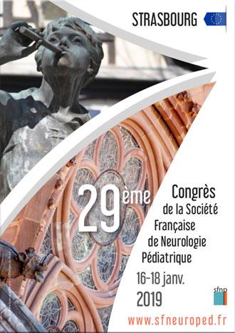 Affiche congrès SFNP Strasbourg 2019
